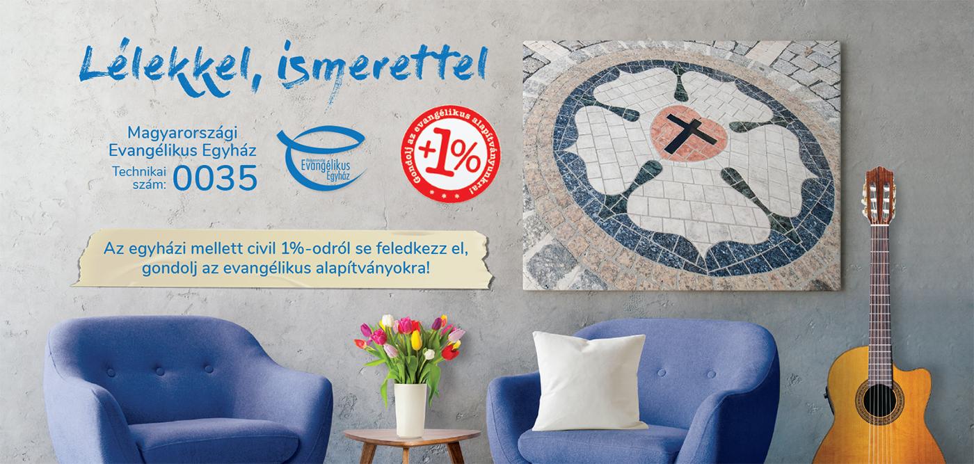 Támogassa adója 1+1%-val a Magyar Evangélikus Egyházat és a Keszthelyi Evangélikus Alapítványt!